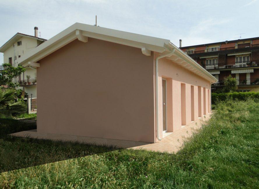 casa in legno caritas